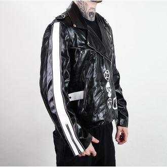 sacou primăvară/ toamnă bărbați - Rock Jacket Lacrimas Profundere - ADERLASS, ADERLASS