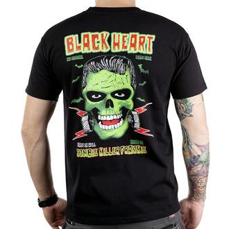 tricou de stradă bărbați - Frankie - BLACK HEART - Frankie, BLACK HEART