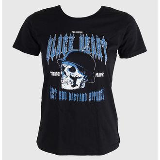 tricou de stradă femei - Vintage Skull, BLACK HEART