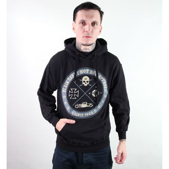 hanorac cu glugă bărbați - Circle Skull - BLACK HEART - Circle Skull, BLACK HEART