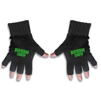 Mănuși fără degete Green Day - Logo - RAZAMATAZ, RAZAMATAZ, Green Day