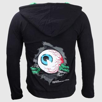 hanorac cu glugă femei - Eyeball - KREEPSVILLE SIX SIX SIX, KREEPSVILLE SIX SIX SIX