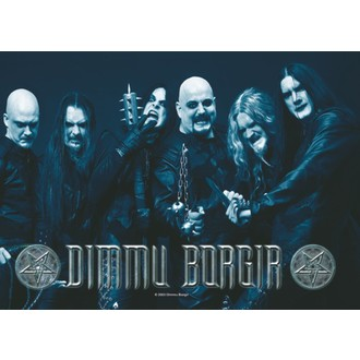 steag Dimmu Borgir - Fotografie de formație, HEART ROCK, Dimmu Borgir
