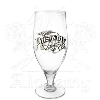 sticlă ALCHEMY GOTHIC - La fată frumoasă Epocă Absint stacană, ALCHEMY GOTHIC
