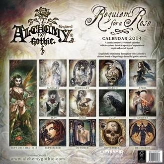calendar 2014 Alchimie - PYRAMID POSTERS, ALCHEMY GOTHIC
