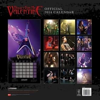 calendar 2014 Bullet For my Valentine - PYRAMID POSTERS, PYRAMID POSTERS, Bullet For my Valentine