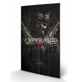 de lemn imagine Spirală - steampunk Bandit - PYRAMID POSTERS, SPIRAL