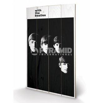 Imagine pe lemn  The Beatles - With The Beatles - PYRAMID POSTERS, PYRAMID POSTERS, Beatles