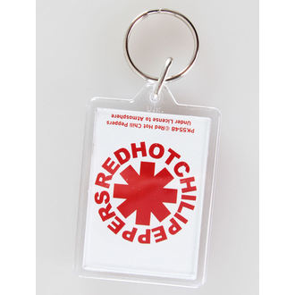breloc (pandantiv) roșu Fierbinte chili Ardei - Logo - PYRAMID POSTERS, PYRAMID POSTERS, Red Hot Chili Peppers