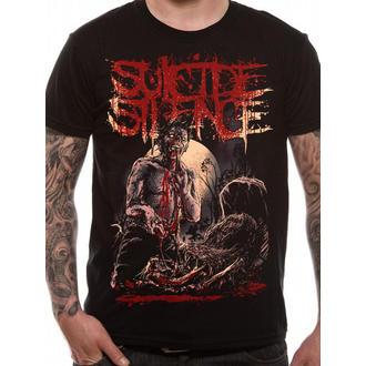 tricou stil metal bărbați Suicide Silence - Grave - LIVE NATION, LIVE NATION, Suicide Silence