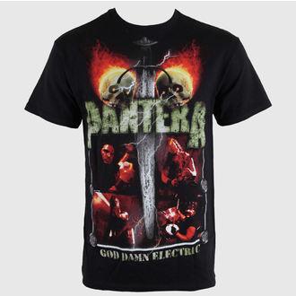 tricou stil metal bărbați Pantera - Lightning Skulls - BRAVADO, BRAVADO, Pantera