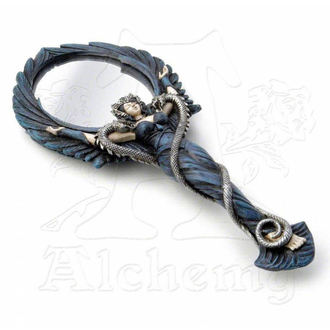 oglindă Alechemy gotic - Negru Înger Mana Oglindă, ALCHEMY GOTHIC