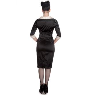 rochie femei IAD BUNNY - Moneypenny - Negru / Fildeş, HELL BUNNY