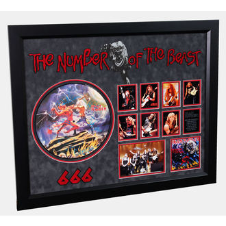 LP cu semnătură FIER DE FATĂ - Număr De The Fiară, ANTIQUITIES CALIFORNIA, Iron Maiden