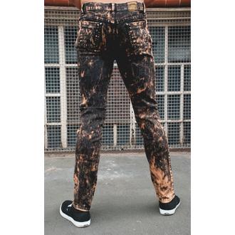 pantaloni bărbați 3RDAND56th - Acid spalare Slab, 3RDAND56th