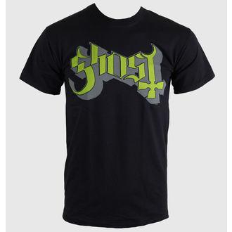 tricou stil metal bărbați Ghost - Keyline Logo - ROCK OFF, ROCK OFF, Ghost