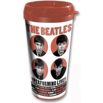 ceașcă termic The Beatles - efectuarea de Trăi - ROCK OFF, ROCK OFF, Beatles
