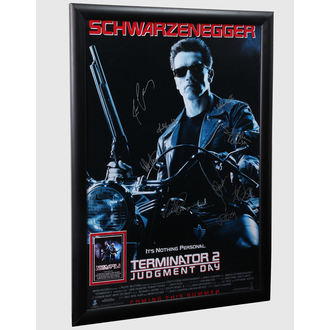 poster cu semnături Terminator 2, ANTIQUITIES CALIFORNIA