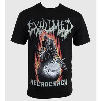 tricou stil metal bărbați Exhumed - Necrocracy - RELAPSE, RELAPSE, Exhumed