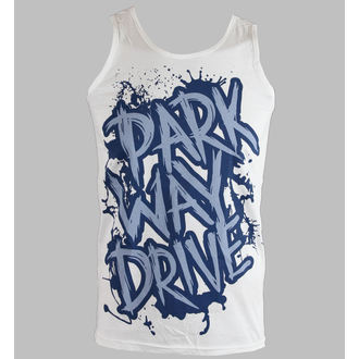 top bărbați alee Conduce - Albastru Logo - alb - REGII DRUM, Buckaneer, Parkway Drive