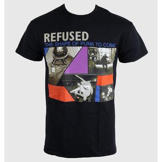 tricou stil metal bărbați unisex Refused - The Shape Of Punk - KINGS ROAD, KINGS ROAD, Refused