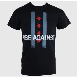 tricou stil metal bărbați unisex Rise Against - Flag - KINGS ROAD, KINGS ROAD, Rise Against