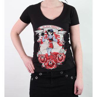tricou hardcore femei unisex - Adi- Boxer - BLACK MARKET, BLACK MARKET
