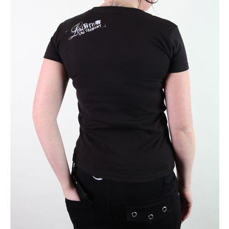 tricou hardcore femei unisex - Kris Chisholm - BLACK MARKET