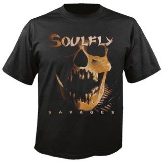 tricou stil metal bărbați unisex Soulfly - Savages - NUCLEAR BLAST, NUCLEAR BLAST, Soulfly