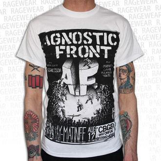 tricou stil metal bărbați unisex Agnostic Front - Old School - RAGEWEAR, RAGEWEAR, Agnostic Front