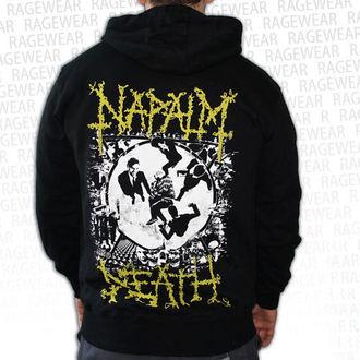 hanorac cu glugă bărbați Napalm Death - Ultilitarian - RAGEWEAR, RAGEWEAR, Napalm Death