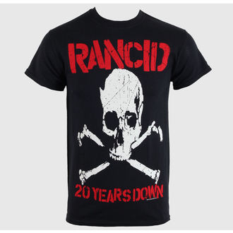 tricou stil metal bărbați unisex Rancid - 20 Years Down - RAGEWEAR, RAGEWEAR, Rancid