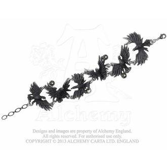 brăţară Îmbulzesc corbi - ALCHEMY GOTHIC - A101