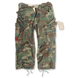 Pantaloni scurți 3/4 bărbați SURPLUS - Vintage - Woodland, SURPLUS