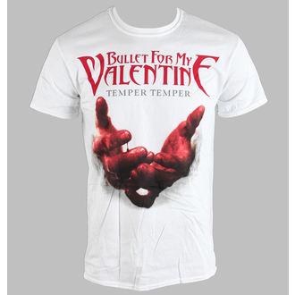 tricou stil metal bărbați unisex Bullet For my Valentine - Temper Temper Blood Hands - BRAVADO EU, BRAVADO EU, Bullet For my Valentine