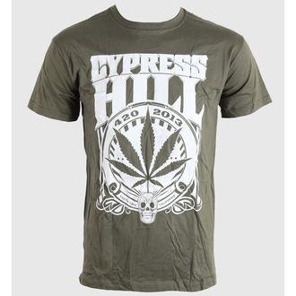tricou stil metal bărbați unisex Cypress Hill - 420 2013 - BRAVADO EU, BRAVADO EU, Cypress Hill