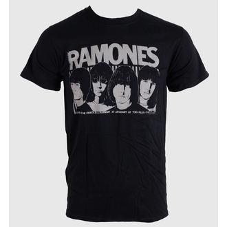 tricou stil metal bărbați unisex Ramones - Odeon Poster - BRAVADO EU, BRAVADO EU, Ramones
