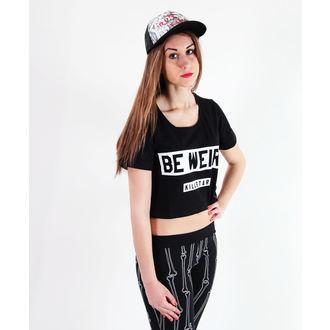 tricou femei unisex - Be Weird Crop - KILLSTAR, KILLSTAR