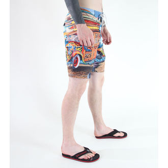 costume de baie bărbați (pantaloni scurti) SANTA CRUZ - WOODYSTOCK - Multi, SANTA CRUZ