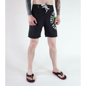 costume de baie bărbați (pantaloni scurti) SANTA CRUZ - CIRCULA - NEGRU, SANTA CRUZ