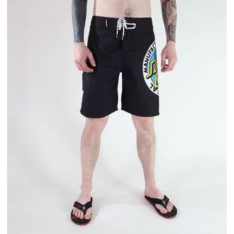 costume de baie bărbați (pantaloni scurti) SANTA CRUZ - MF ORIGINAL - Negru, SANTA CRUZ