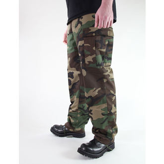 pantaloni bărbați MIL-TEC - S.U.A. pădurar Furtun - Woodland, MIL-TEC