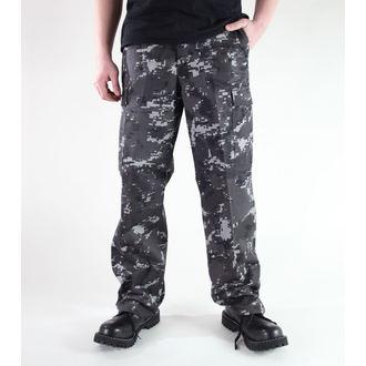 pantaloni bărbați MIL-TEC - S.U.A. pădurar Furtun - Negru Digital, MIL-TEC
