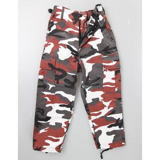 pantaloni copii MIL-TEC - S.U.A. Furtun - roșu camo, MIL-TEC