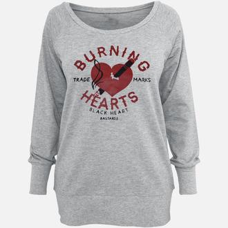 hanorac femei - Burning - BLACK HEART, BLACK HEART