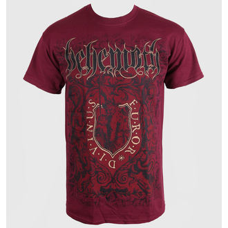 tricou stil metal bărbați copii Behemoth - Furor Divinus Maroon - PLASTIC HEAD, PLASTIC HEAD, Behemoth