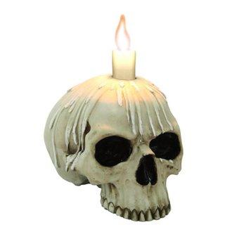 Sfeşnic (Decoraţiune) Candle skull w / o lower jaw