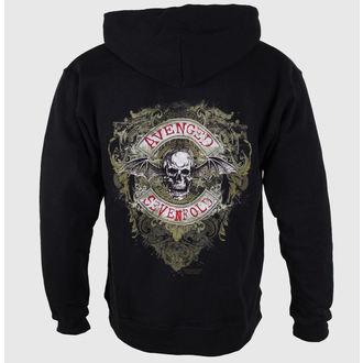 hanorac cu glugă bărbați Avenged Sevenfold - Flourish Zip - ROCK OFF, ROCK OFF, Avenged Sevenfold