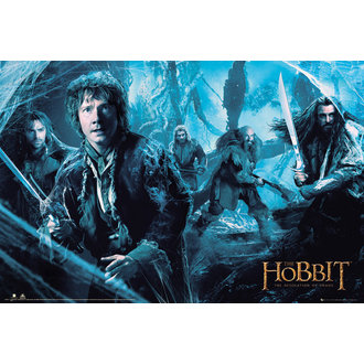 poster The hobbit - Pustiire de Smaug Mirkwood - GB posters, GB posters