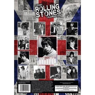 calendar la an 2015 RULARE PIETRE, Rolling Stones